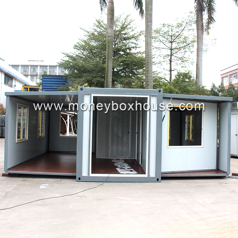Luxury expandable shipping container house for sale