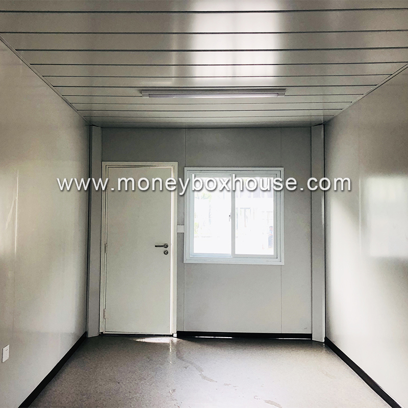 Low cost 20 feet sandwich panel modular container haus