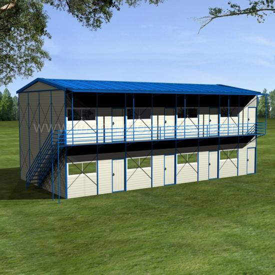 Acheter mobile maison en acier l g re k pr fabriqu for Logement prefabrique