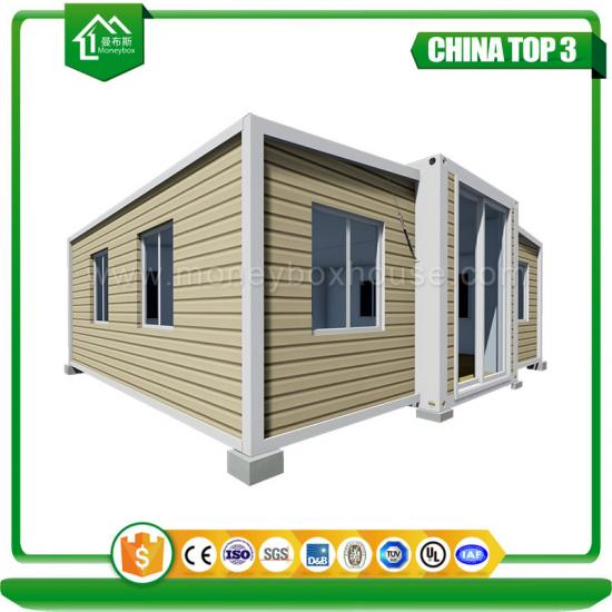 two rooms container house